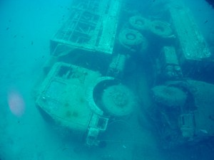 Lorry on the Zenobia Wreck by Jetlife 2