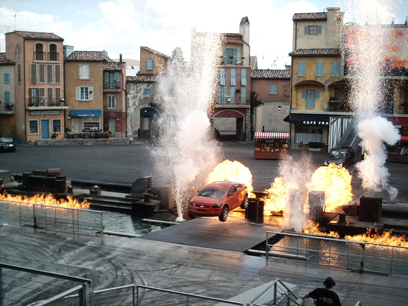 The Moteurs... Action! Stunt Show, Euro Disney