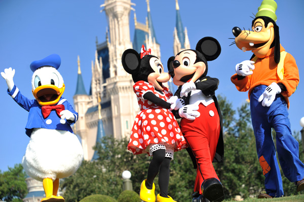 Disneyland Florida The happiest place on earth: Disney theme parks [an interactive timeline]
