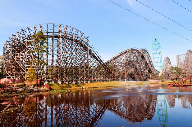 El Toro rollercoaster in the USA