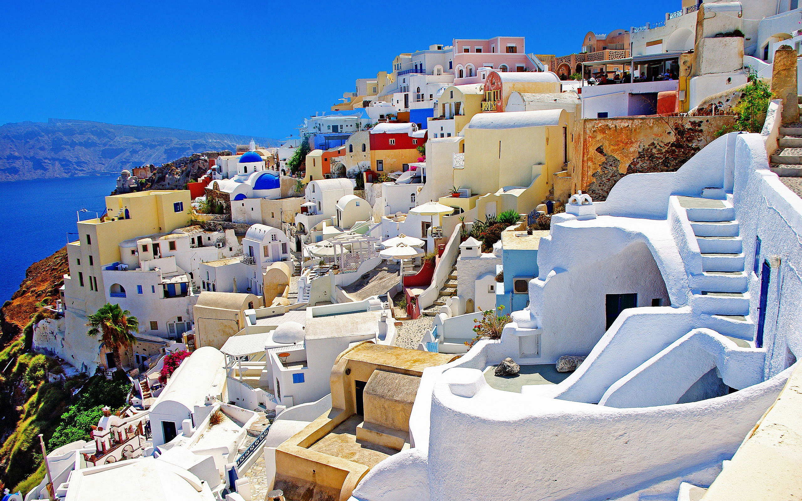Santorini Greek Island Hopping