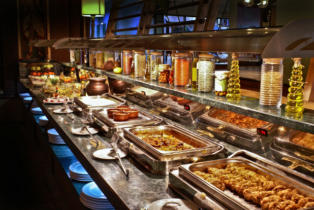 food buffet What can I expect at an inexpensive all inclusive resort?