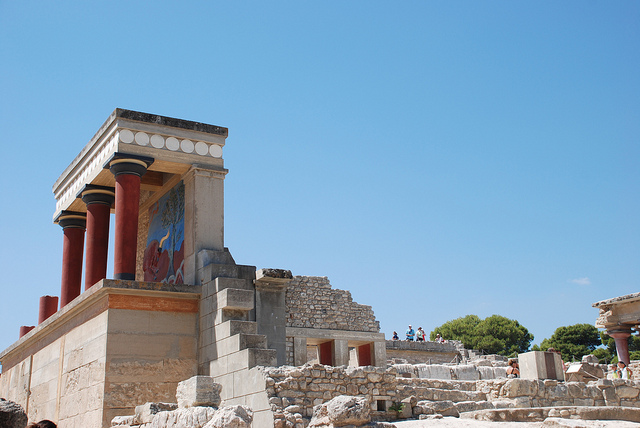 Knossos Palace, the capital of Minoan Crete