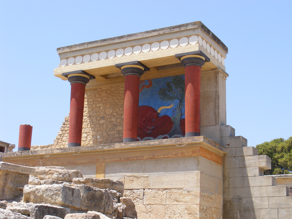 Palace of Knossos, Capital of Minoan Crete