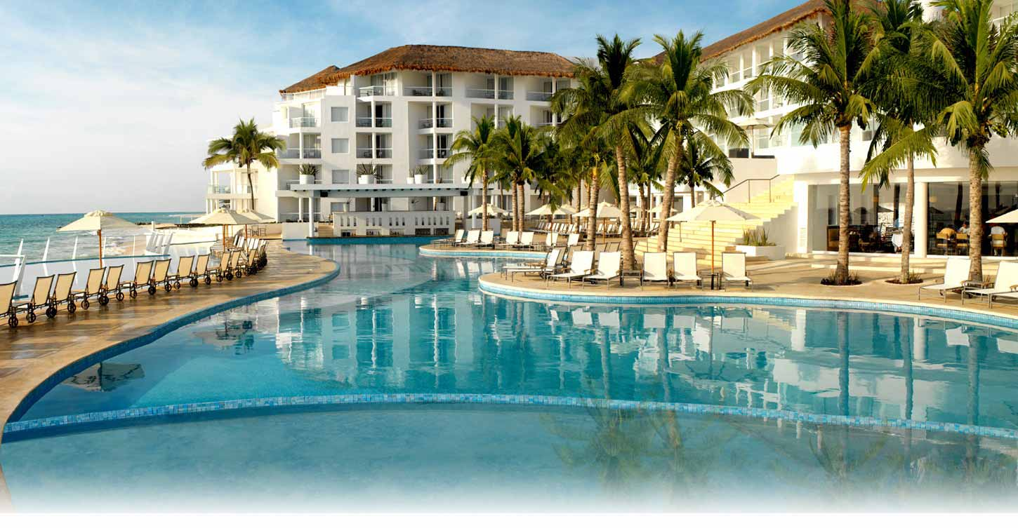 booking a honeymoon at the Playacar Palace in Cancun