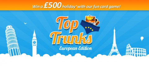 Top Trunks card game by Holiday Hypermarket