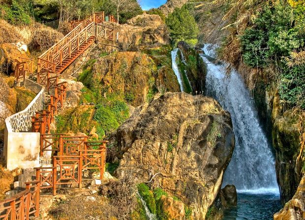 Algar waterfall, Spain
