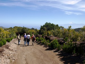 walking la gomera