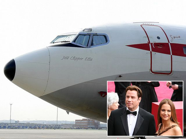 John Travolta owns and pilots his own Boeing 707