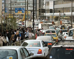 Traffic in Toyko