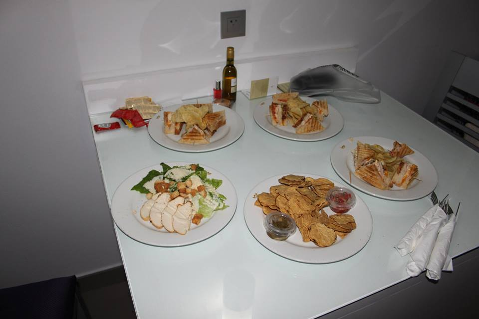 Room service - included in the All Inclusive