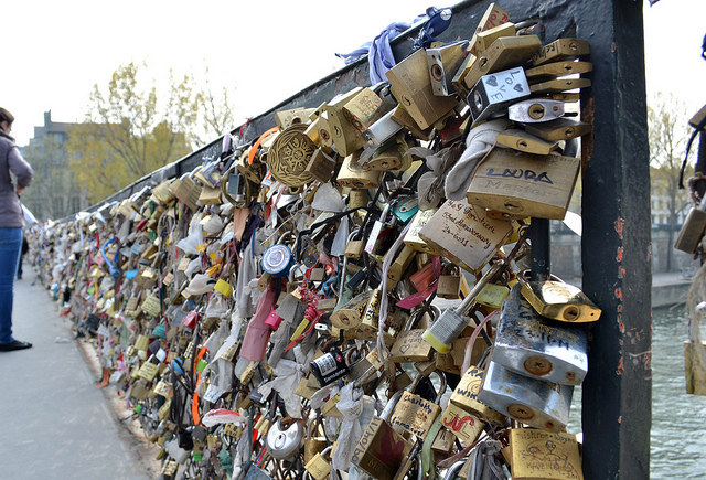 Paris Love Locks Lost