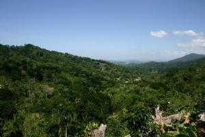 Scenery in Dominican