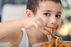 Spaghetti for fussy eaters