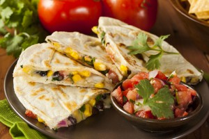 Quesadilla for fussy eaters