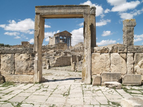 The Capital at Dougga (VII)