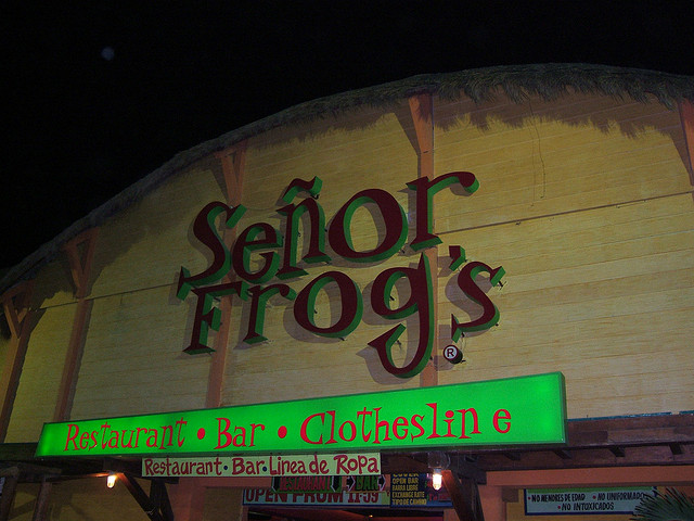 A Shout Out to Senor Frog's