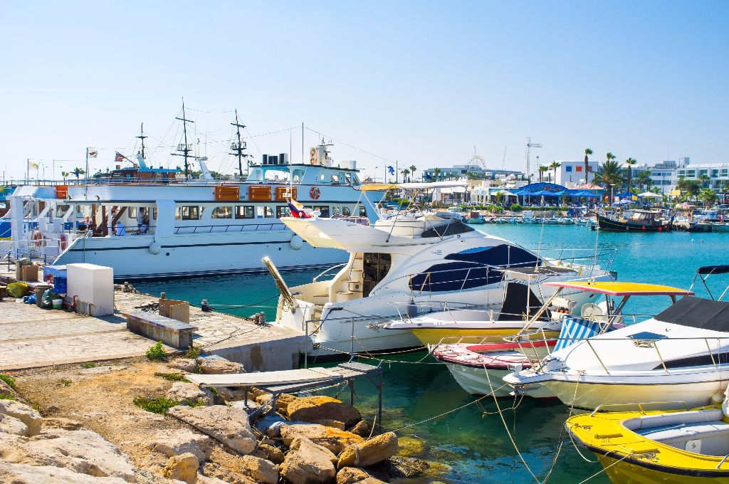 Fishing boats in Ayia Napa