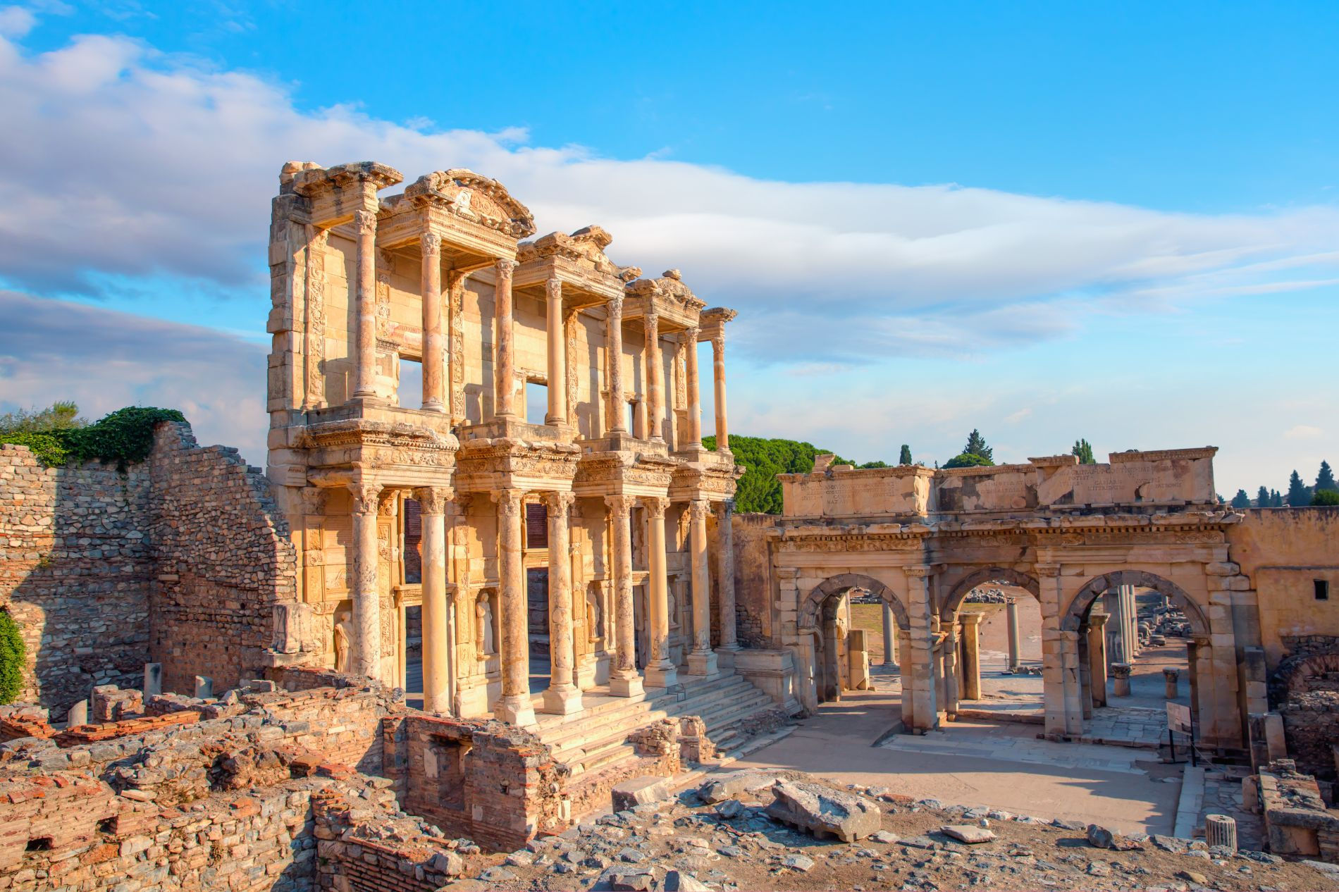 Image of Ephesus in Turkey