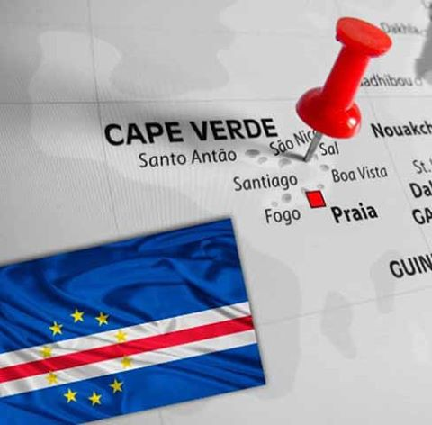 Cape Verde on the Map