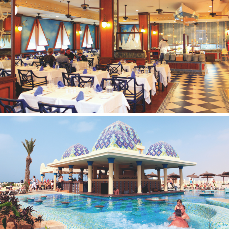 Clubhotel Riu Karamboa restaurant and pool bar