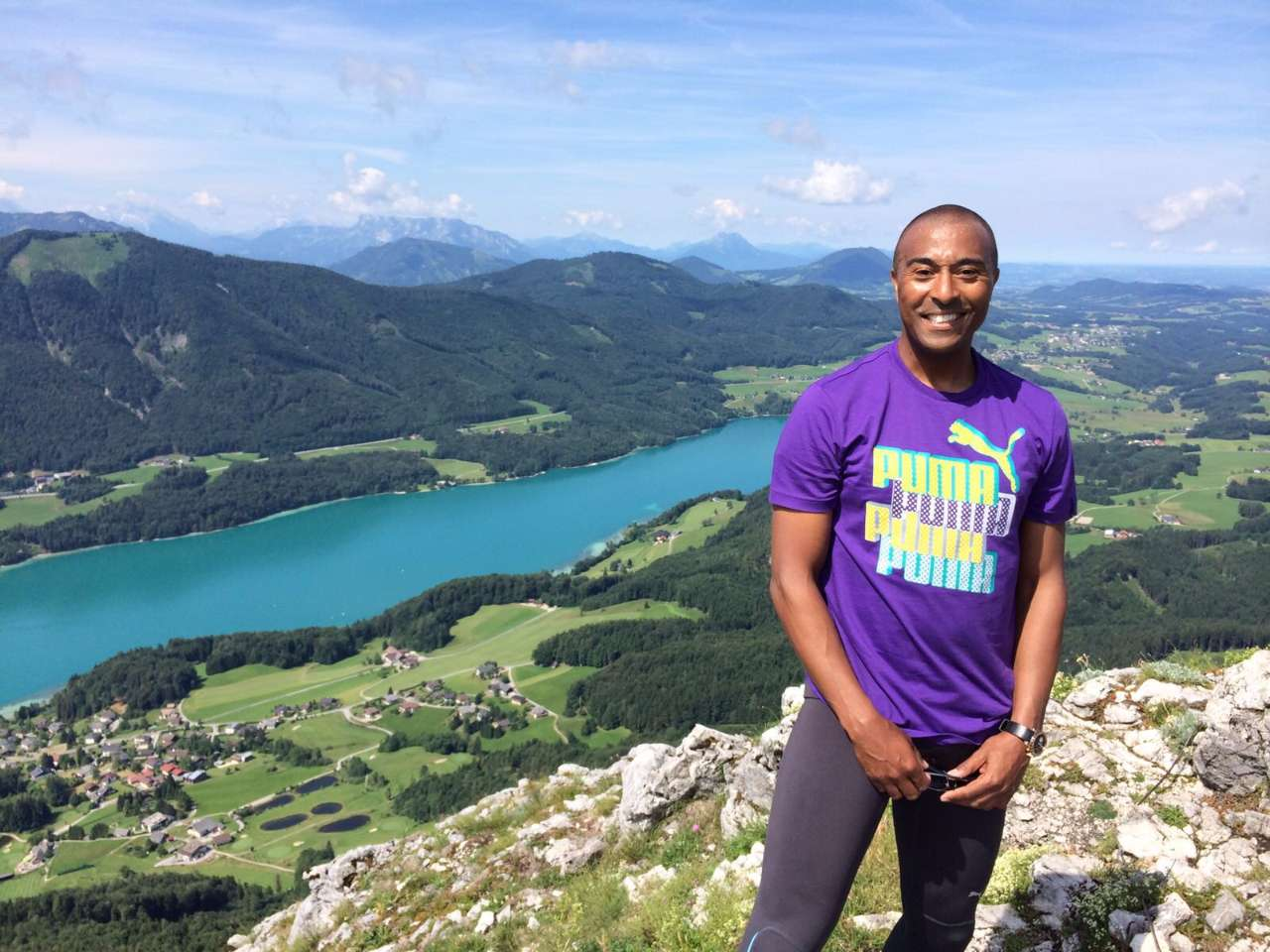 How I Holiday, with Colin Jackson