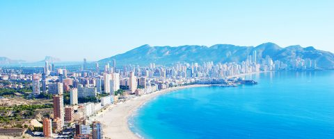 Benidorm on the Costa Blanca
