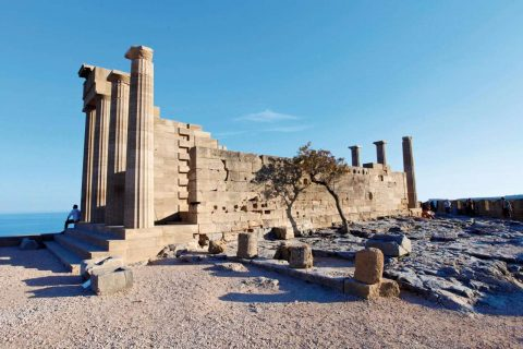 Temple of Athena, Lindos, Rhodes
