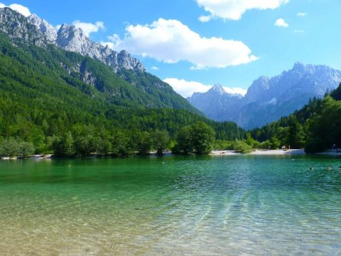 slovenia mountains clear waters