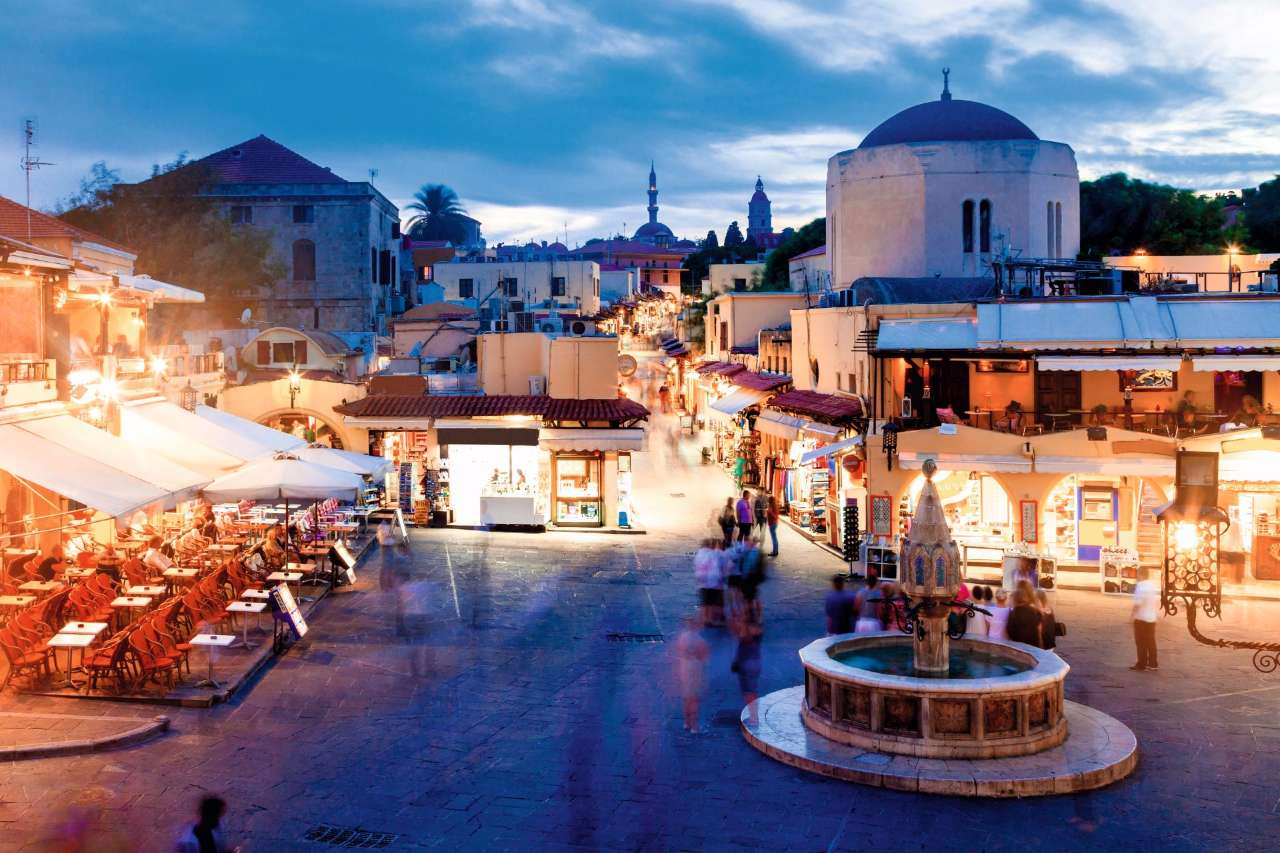 Insider Interview: Picture Perfect Rhodes Old Town