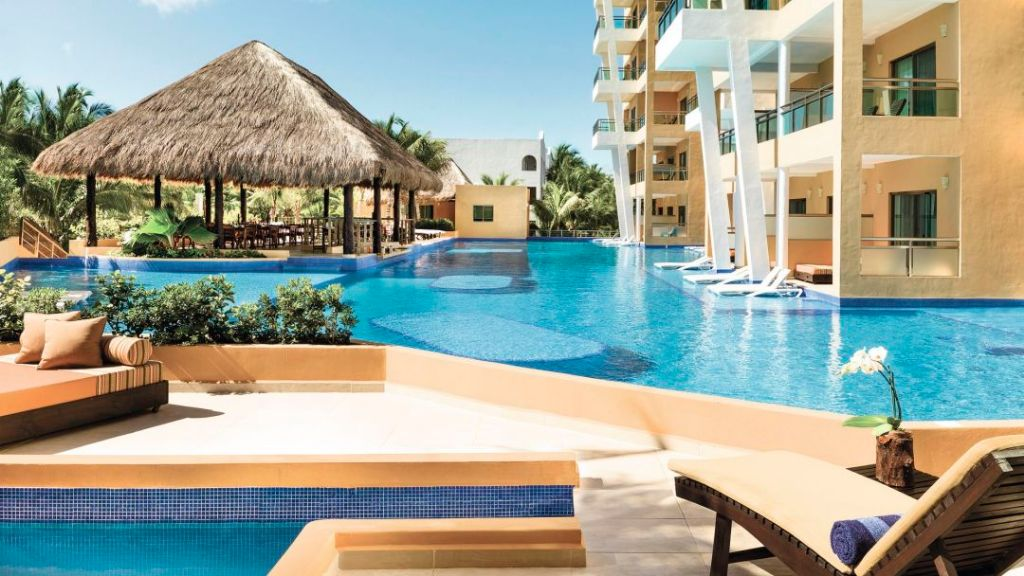 Premium Pool Area at the El Dorado Seaside Suites and Spa Hotel