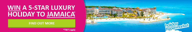 Win a luxury 5 star holiday to Jamaica with flights included