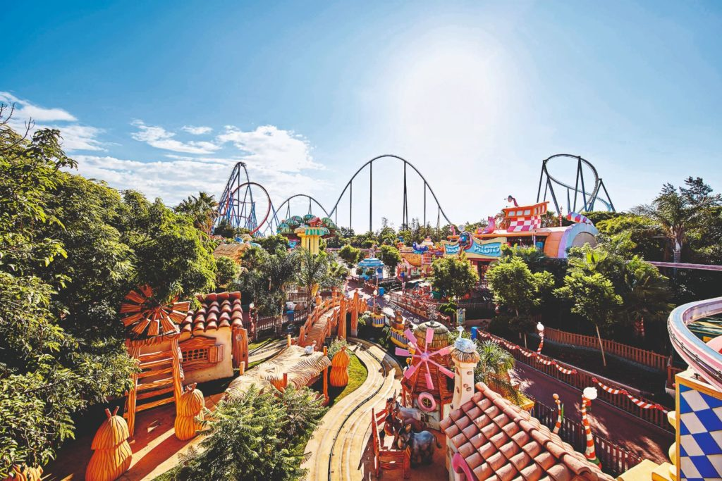 PortAventura World theme park - Halloween nights