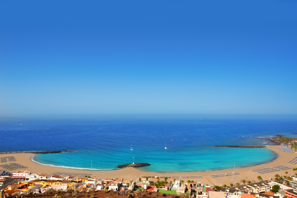 Playa de las Vistas beach Tenerife