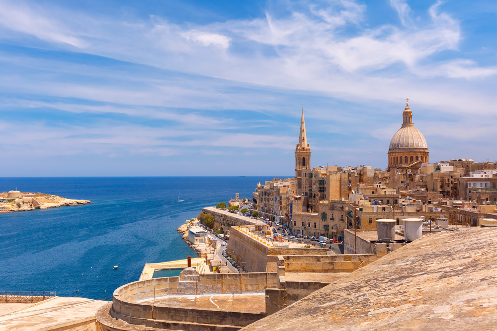 St. Paul's Anglican Pro-Cathedral, Valletta, Capital city of Malta