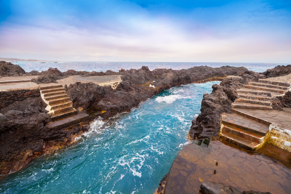 Garachico town rock pools, Tenerife